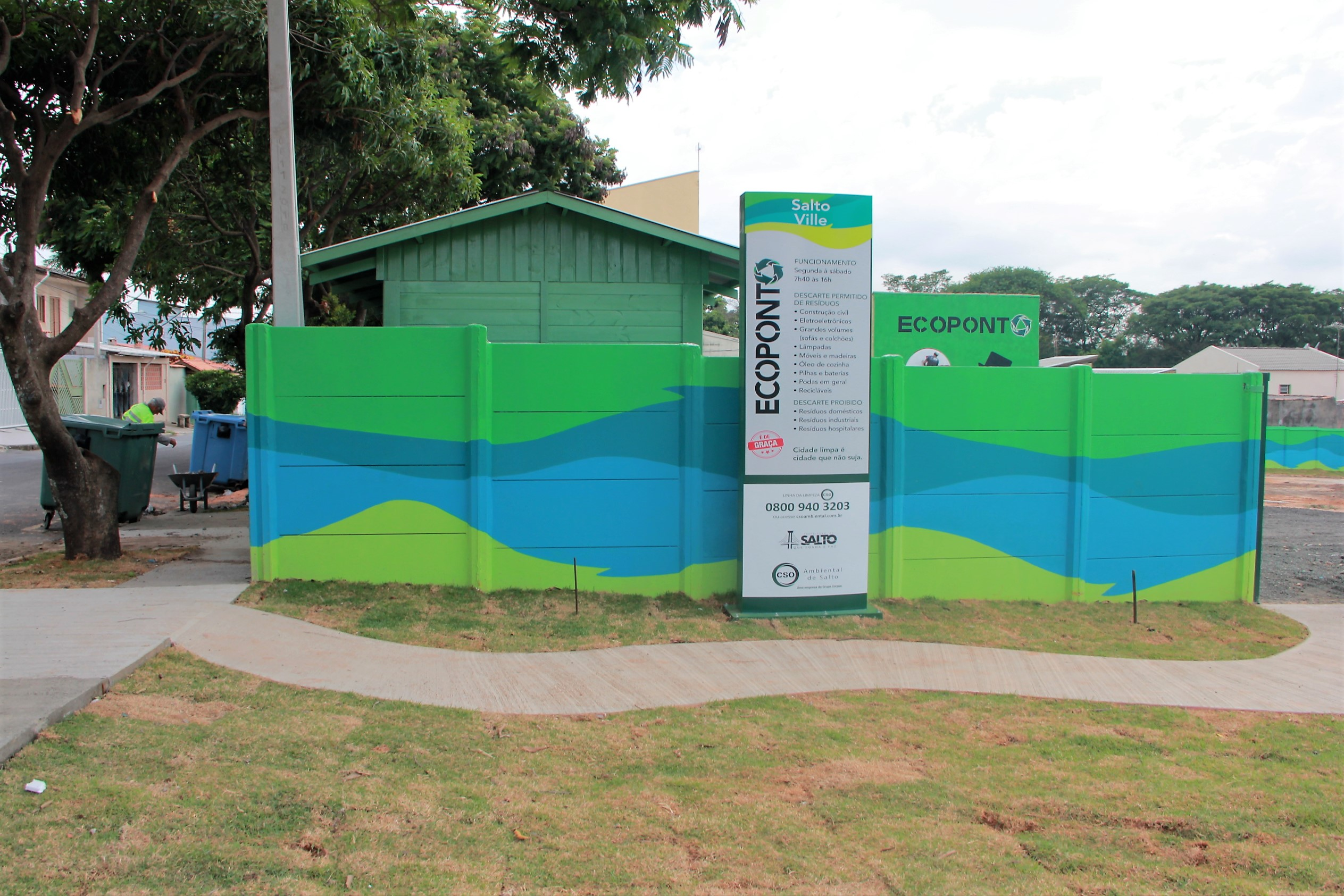 Prefeitura e CSO Ambiental entregam 8º Ecoponto na segunda-feira (17)