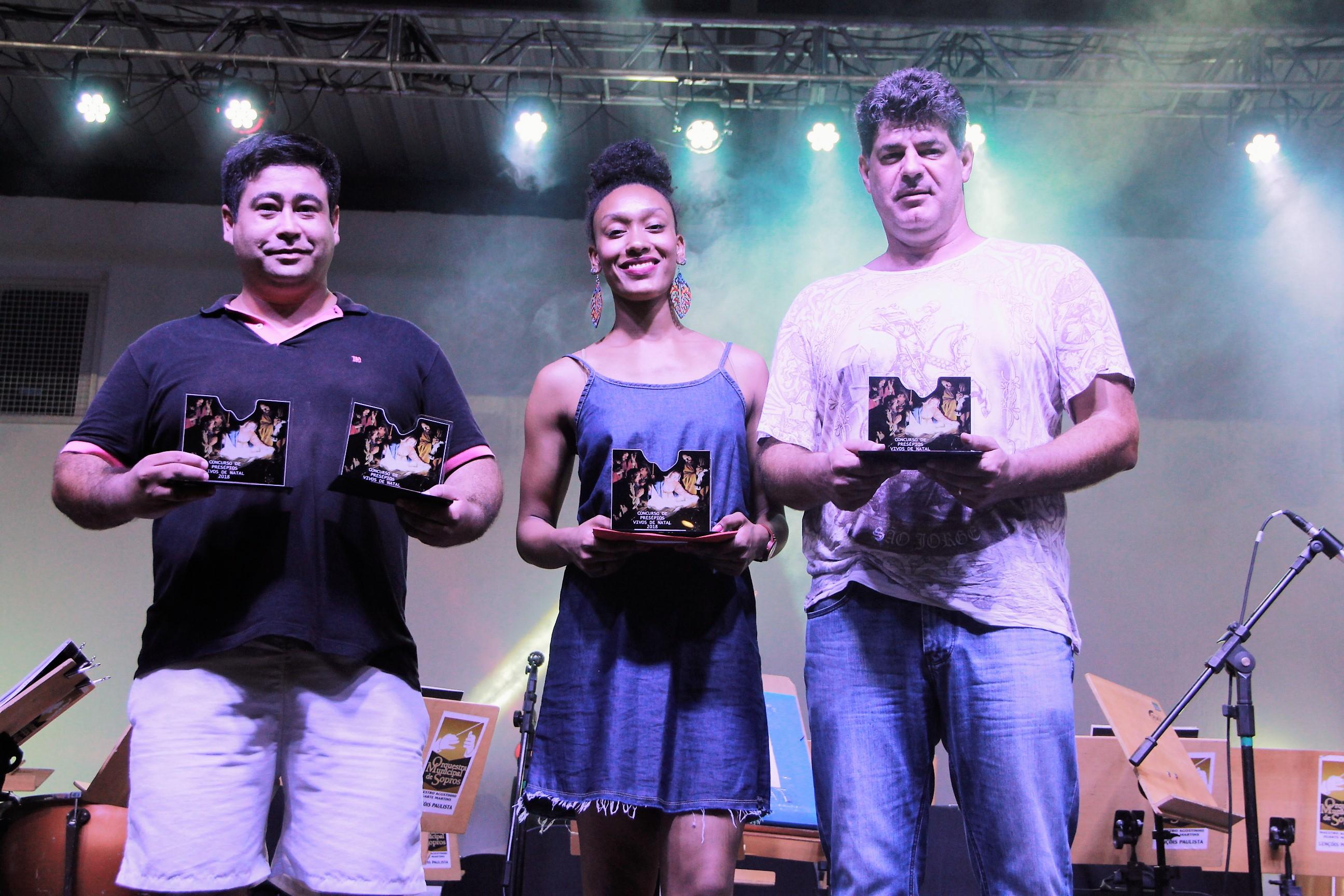 Secretaria da Cultura premia vencedores do concurso de Presépio Vivo 2018