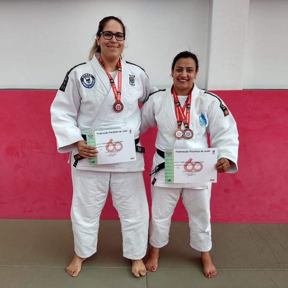 Atletas de Judô participam da cerimônia Destaques na Classe Master 2018